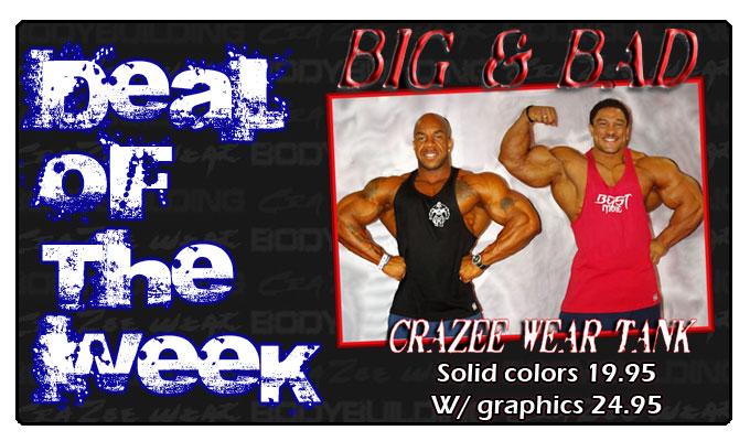 CrazeeWear Tank Tops